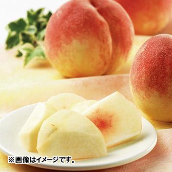 <山梨県産>JA梨北 大草桃部会水蜜桃1.7kg(7玉)