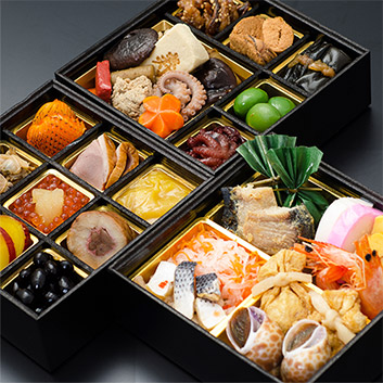 ★数量限定★<ANAオリジナル>日本料理 一乃松 謹製冷凍おせち三段重