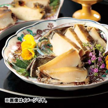 <日本料理 一乃松>越前黒あわび蒸貝&煮貝セット