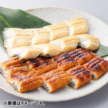 <日本料理 一乃松>うなぎの蒲焼&白焼セット