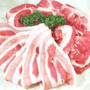 <イタリア産>ホエー豚 肩ロース・バラ700g