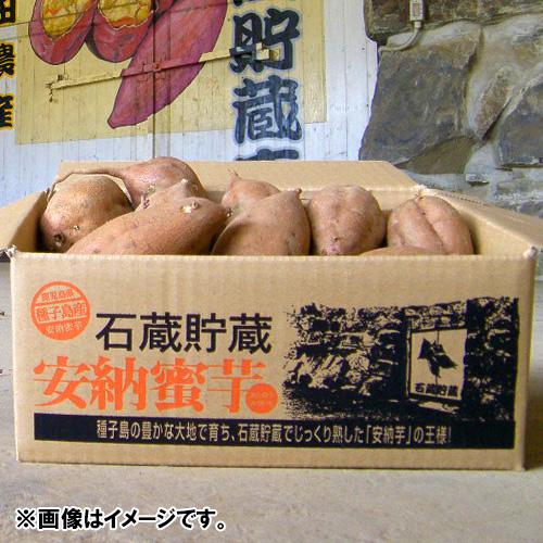 <鹿児島県・西田農産>石蔵熟成安納芋 5kg