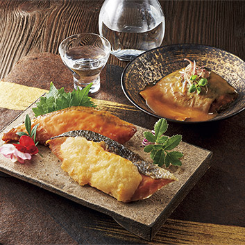 <活黒>骨までやわらかレンポン煮魚・焼魚セット