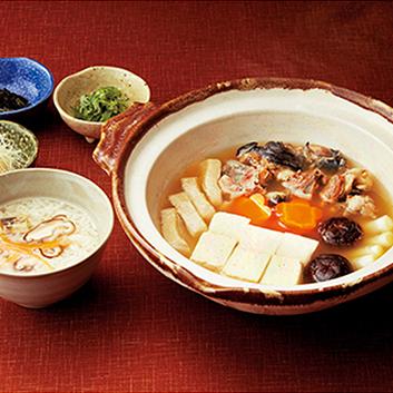 〈京都舞坂〉すっぽん鍋・雑炊セット