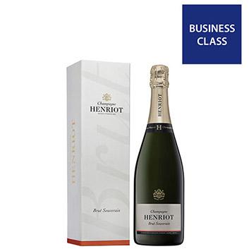 <アンリオ>シャンパーニュ・ブリュット・スーヴェラン【NV】(白シャンパン)