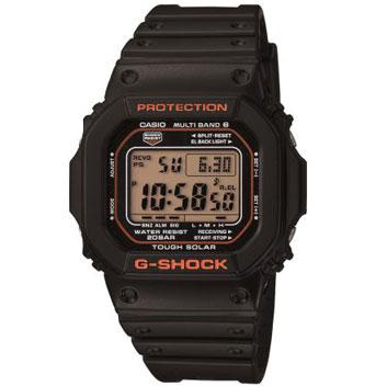 <カシオ>G-SHOCK 世界6局対応電波ソーラー GW-M5610R-1JF