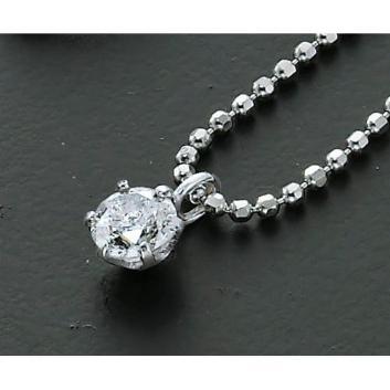 【タカシマヤ セレクト】ダイヤモンドペンダント(0.15カラット一粒石)