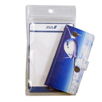 <ANAオリジナル>手帳型スマホケース 787-8 -機影-