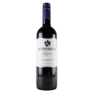 <ヴィニア・エチュベリア>エチュベリア・カルメネール・レゼルヴァ【2014】(赤ワイン)