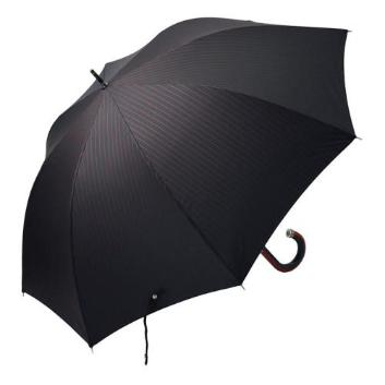 <ジェフ・バンクス>ストライプ柄長傘/耐風構造