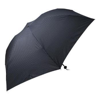 <アイウ>ストライプ大判軽量 折りたたみ傘