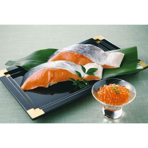 根室産時鮭&いくら醤油漬