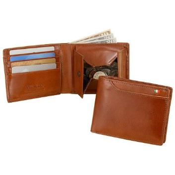 <ミラグロ>イタリアンレザー・21ポケット財布