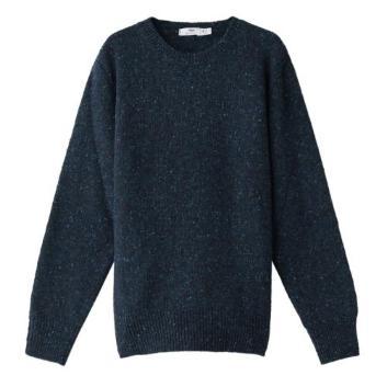 <イニシュマン>クルーネックセーター