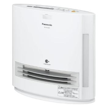 <Panasonic>加湿機能付きナノイーセラミックファンヒーター(DS-FKX1205-W)