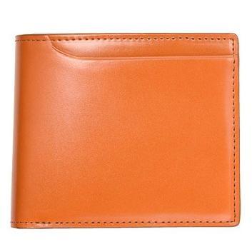 <ミラグロ>コードバン・2つ折り財布