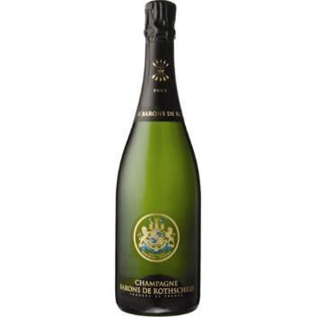 <バロン・ド・ロスチャイルド>ブリュット 【NV】ハーフボトル (ボックス付き) 白シャンパン (エノテカ)