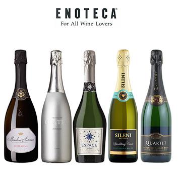 フランチャコルタ入り エブリデイ スパークリングワイン5本セット(エノテカ)
