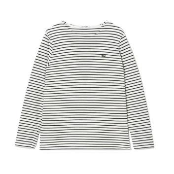 <ラコステ>コットンピケボーダーTシャツ(長袖)