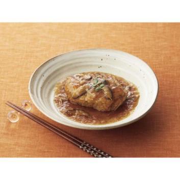 〈神戸元町・なごみ料理みのり〉和風きのこ餡の煮込みハンバーグ9個
