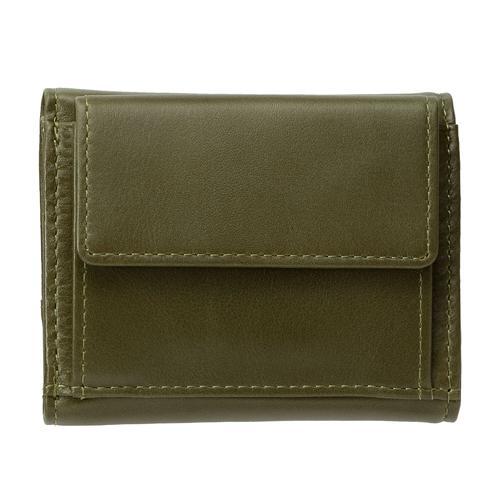 <ミラグロ>アニリンカーフ ミニ3つ折り財布