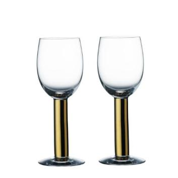 <Orrefors>NOBEL ワイングラスペアセット