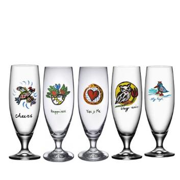 <KOSTA BODA>FRIENDSHIPビールグラス5Pセット