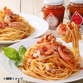 蝦名漁業部 北海道羽幌産 甘えびパスタセット