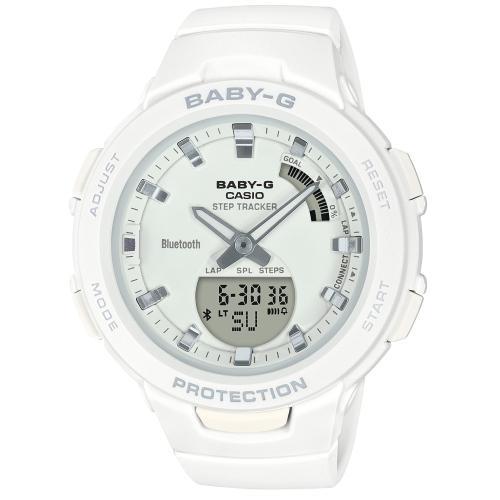 <カシオ>BABY-G G-SQUAD Bluetooth搭載 BSA-B100-7AJF