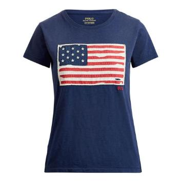 <ラルフ ローレン>アメリカンフラッグ Tシャツ