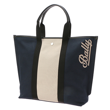 <BALLY>CANVAS TOTE MD トートバッグ