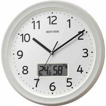 <リズム時計>フィットウェーブリブA02(電波掛時計)