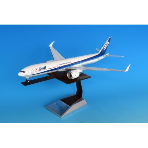 <ANAオリジナル>NH20100 1:200 777-9 地上折りたたみ翼 ギアつきABS樹脂ソリッドモデル 完成品