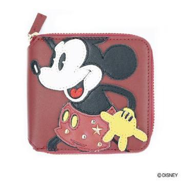 <アコモデ>ミッキーマウス/スタッズミニウォレット