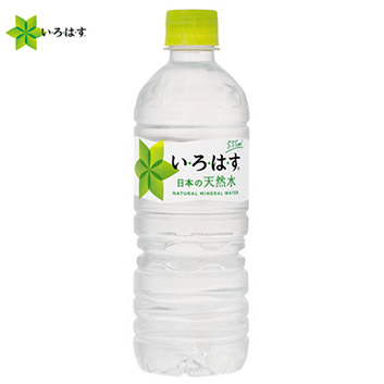 <コカ・コーラ>い・ろ・は・す555ml×24本