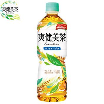 <コカ・コーラ>爽健美茶600ml×24本