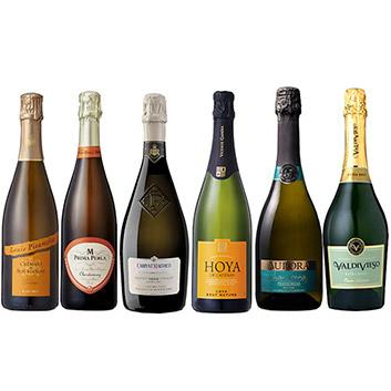【送料無料】世界の金賞スパークリングワイン6本セット