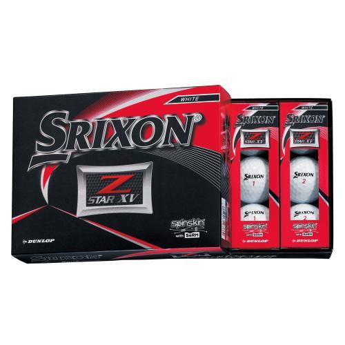 <スリクソン>スリクソン ゴルフボール NEWスリクソン Z-STARXV ホワイト