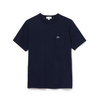 <ラコステ>ベーシッククルーネックポケットTシャツ (半袖)