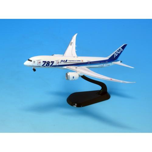 <ANAオリジナル>NH40115 1:400 BOEING 787-8 JA805A 787ロゴ ABS完成品