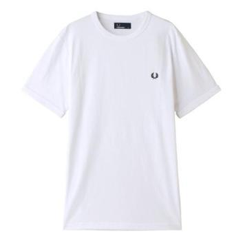 <フレッドペリー>リンガーTシャツ