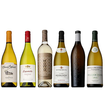 【ソムリエセレクション】銘醸地の白ワイン 6本セット