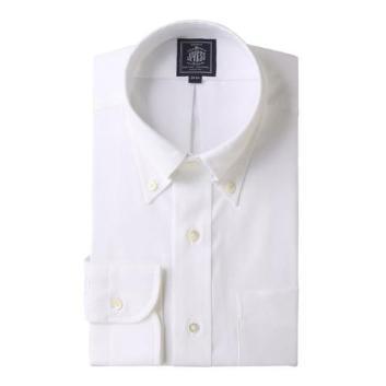 <Jプレス>PLEMIUMPLEATS ピンオックス ボタンダウンシャツ
