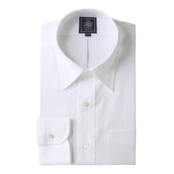 <Jプレス>PLEMIUMPLEATS ピンオックス レギュラーカラーシャツ