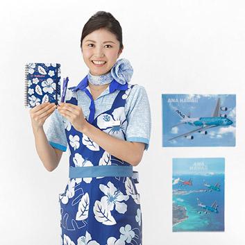 <ANAオリジナル>FLYINGHONU ステーショナリーセット