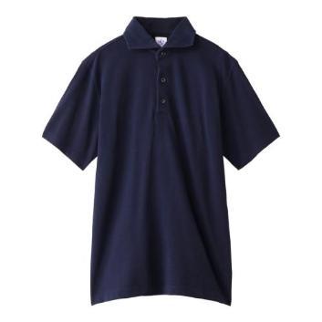 <ジム>ヴィンテージドライウォッシュ共衿ポロシャツ