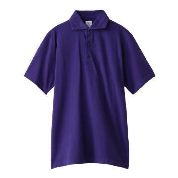<ジム>【メンズクラブ8・9月号掲載】ヴィンテージドライウォッシュ共衿ポロシャツ