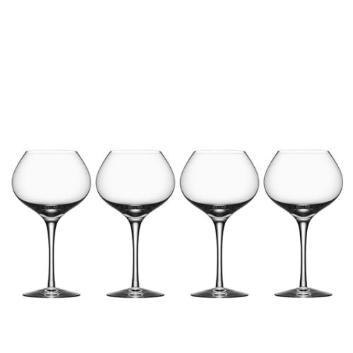 <Orrefors>MORE 赤ワイングラス4Pセット(MATURE)