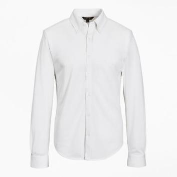 <ブルックス ブラザーズ>スーピマコットンピケ ロングスリーブ ボタンフロントニットシャツ