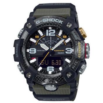 <カシオ>G-SHOCK MUDMASTER Bluetooth搭載 カーボンコアガード  GG-B100-1A3JF